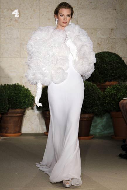 Vestidos para matrimonio de noche clima frio