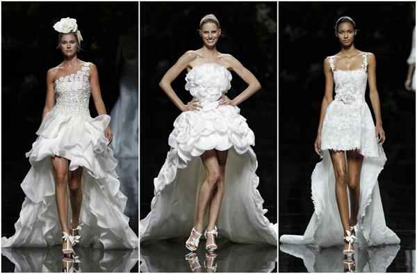 Vestidos de novia cortos bogota