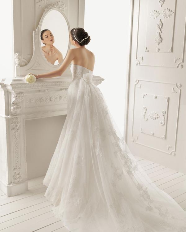 Colas para vestidos de novia