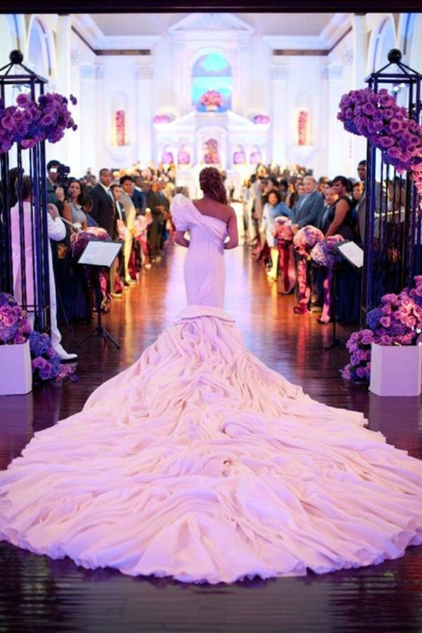 Ideas para tu boda – blog Impactantes colas de vestidos de novia ...