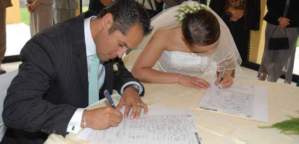 Requisitos matrimonio civil