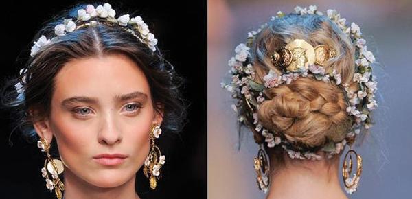 coronas para la novia