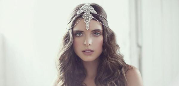 Resultado de imagen de coronas de novias modernas
