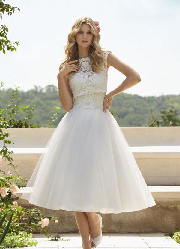 Vestidos cortos para boda campestre
